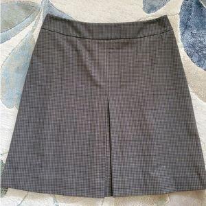PRADA Checkered Pleated Skirt